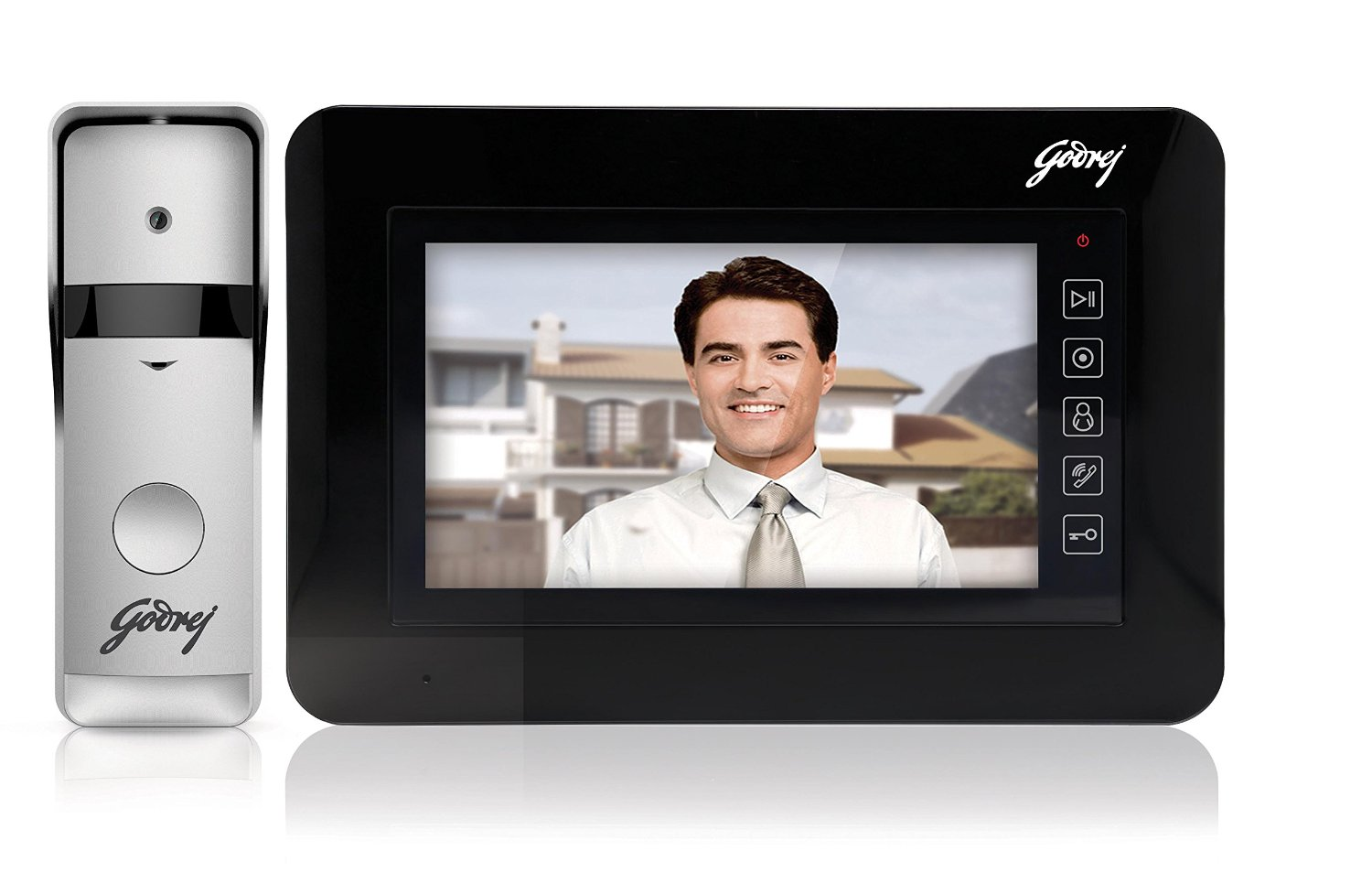 Godrej See Thru ST 7  sc 1 st  CRP Automations & Video Door Phones - CRP Automations - CCTV Installation / Home ...
